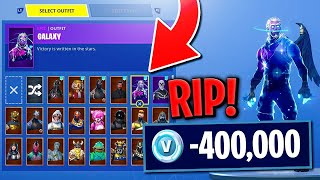 Revealing how MUCH Money i've SPENT on Fortnite 😱 R.I.P