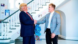 One of Jake Paul's most viewed videos: I MET PRESIDENT DONALD TRUMP!!