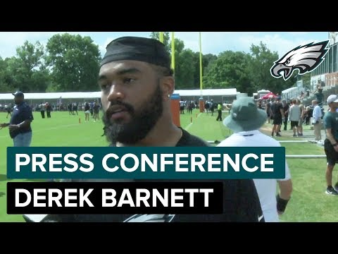 DE Derek Barnett Looking To Improve Upon First Season | Eagles Press Conference