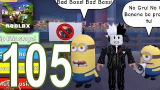 ROBLOX - Gameplay Walkthrough Part 105 - Escape The Minions (iOS, Android)