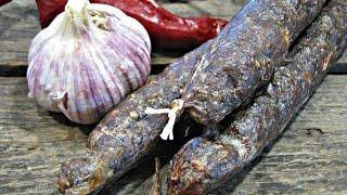 Как приготовить салями   Рецепт Салями   Салями домашняя   Homemade Salami