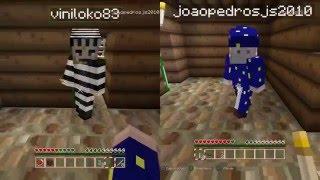 Polícia e ladrão com meu filho de 6 anos no Minecraft - PS4 #1