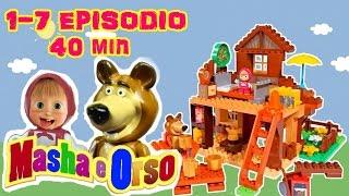 MASHA E ORSO 1 - 7 EPISODIO. I primi 7 episodi della serie, tante avventure divertenti. Play Big