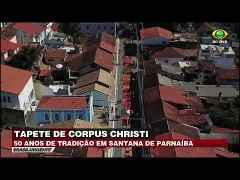 Santana De Parnaíba Exibe Tapetes De Corpus Crhisti