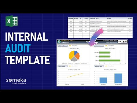 Internal Audit Template   Easy Audit Reporting Process In Excel!