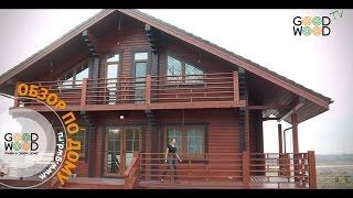 видео Проект дома из бруса