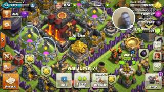Clash of clans game play. JOIN MY CLAN Brown Pride. Look black&yelow LOGO