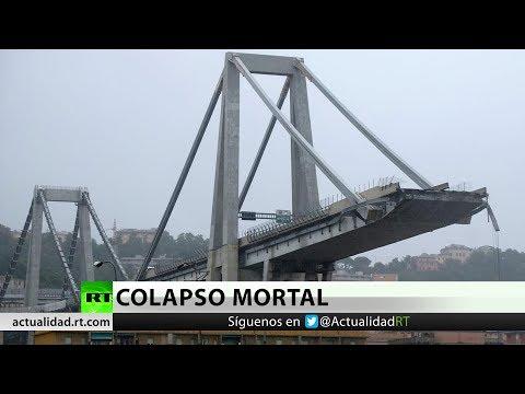 RT en Español: Tragedia en Italia: Lo que se sabe hasta ahora sobre el derrumbe del puente de Génova