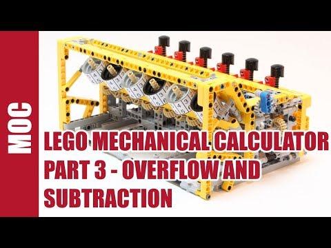 lego mechanical loom instructions