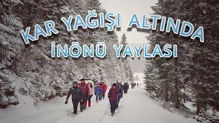SAKARYA İnönü yaylası kış doğa yürüyüşü Pamukova TÜRKİYE 39 NİN Doğal güzellikleri osmo pocket