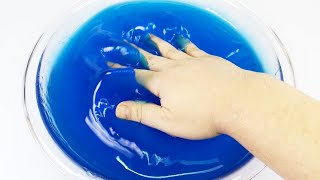 DIY Giant Watery Jiggly Slime ! Baby Doll Bath Time Water Slime | MonsterKids