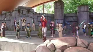 香港迪士尼樂園 星球大戰 絕地聖殿武士特訓