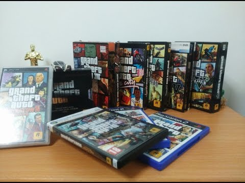 GTA Collection - Grand Theft Auto Collection - Unboxing (1997-2015)