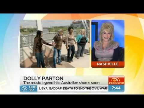 Dolly Parton On Australian TV | Sunrise