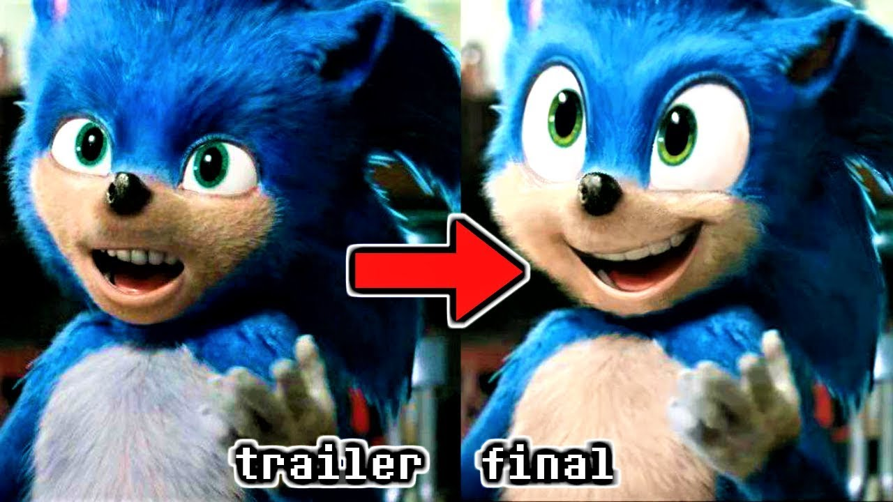 How the SONIC MOVIE 2019 Trailer Design SHOULD LOOK