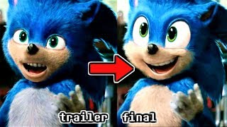 How the SONIC MOVIE 2019 Trailer Design SHOULD LOOK...