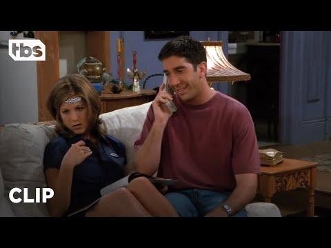 Friends: Ross Phone Call with Julie Annoys Rachel (Season 2 Clip)   TBS