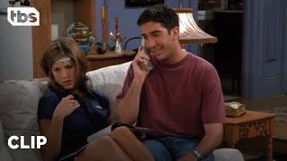 Friends: Ross' Phone Call with Julie Annoys Rachel (Season 2 Clip)   TBS