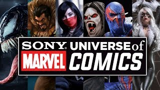 ¡Brutal! Descubre todos los SECRETOS del 'SONY UNIVERSE of MARVEL COMICS'.