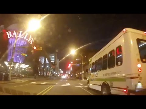 Atlantic City at night: A drive through the city like you've never seen before