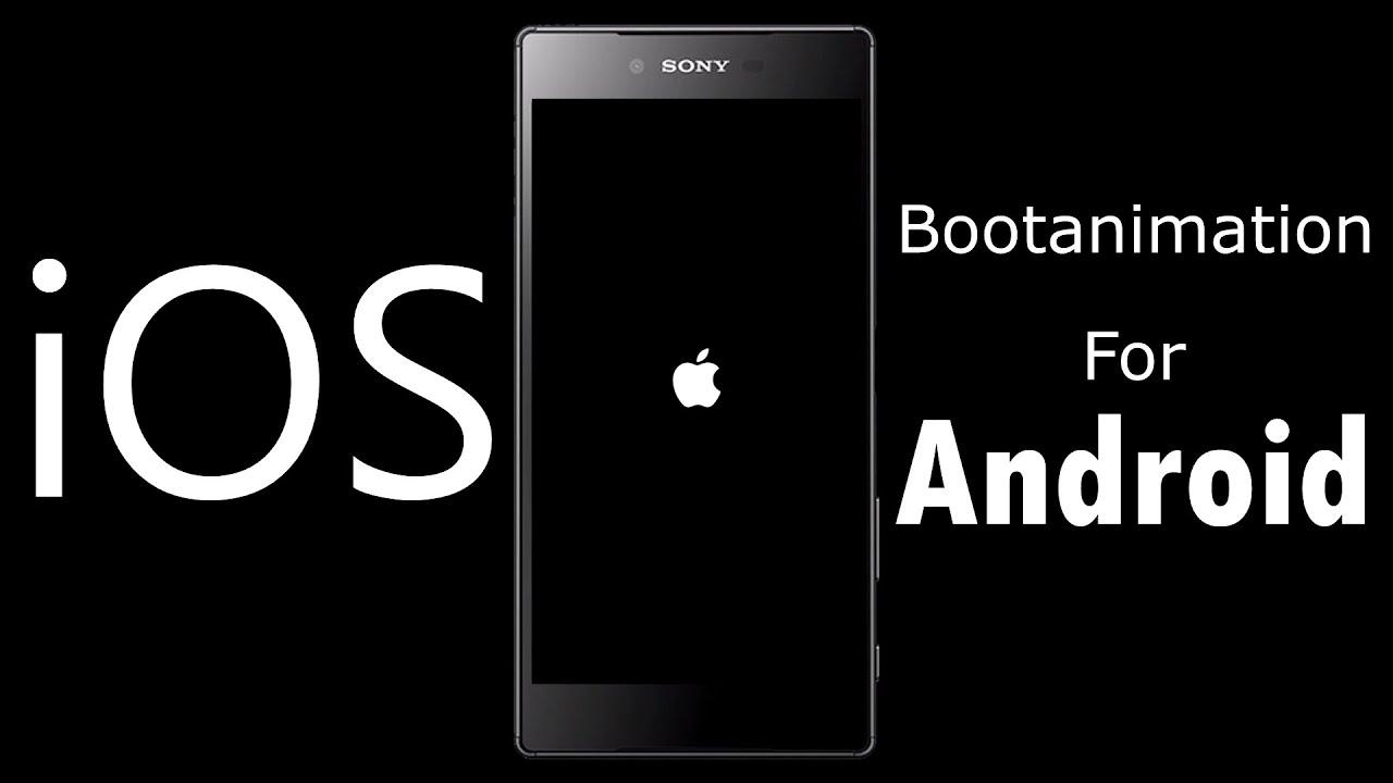 iOS Bootanimation ( Black and White )   Huawei Nexus 6P
