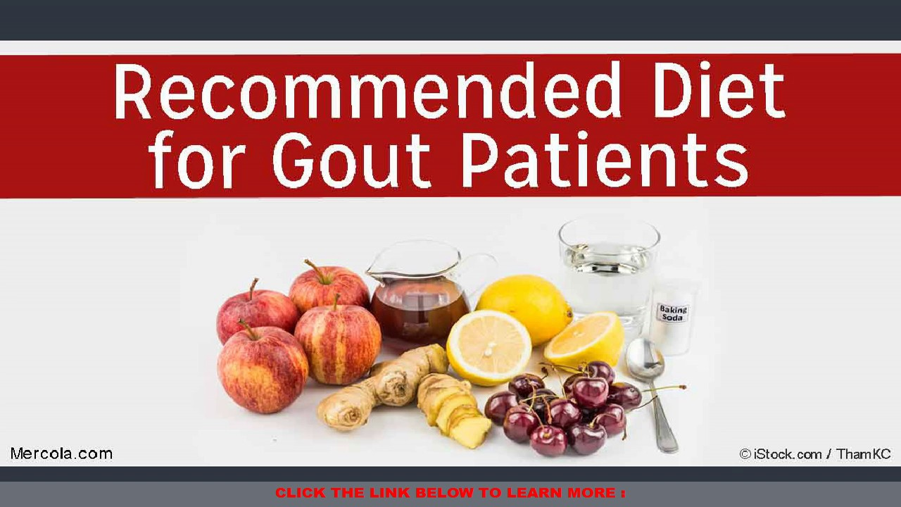 Recommended Diet For Gout Patients Youtube