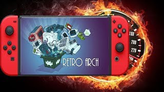 NINTENDO SWITCH EMULADOR RETROARCH  OVERCLOCK DOWNLOAD