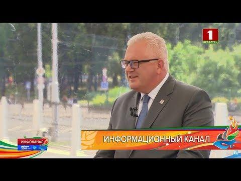 Инфоканал АТН: министр образования Игорь Карпенко о волонтерском движении