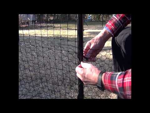 Top Cat Fence Installation: Video 7, Metal Skirts (3 min)