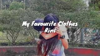 Cover images My Favourite Clothes - RINI (Lyrics)