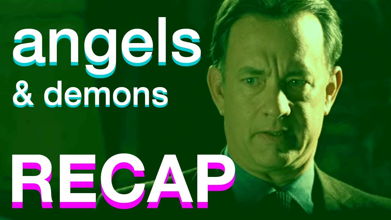 Angels & Demons story IN 20 MINUTES    Da Vinci Code Recap Series
