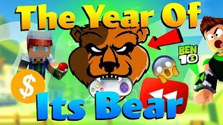 THE YEAR OF ITSBEAR (2017 Recap) [Minecraft, Roblox, Ben 10 & More]