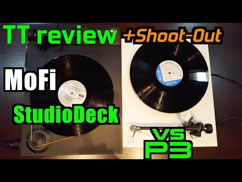 MoFi StudioDeck review & Shoot-Out vs Rega P3