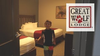 Hotel Room Tour| Great wolf lodge