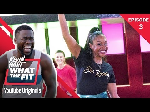 Roller Fitness with Tiffany Haddish | Kevin Hart: What The F