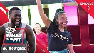 Download Roller Fitness with Tiffany Haddish | Kevin Hart: What The Fit Episode 3 | Laugh Out Loud Network Mp3 and Videos