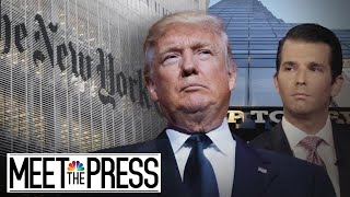 Trump Goes On Offense Against Political Opponents After North Korea | Meet The Press | NBC News