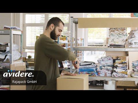 Referenzfilm für Rajapack Glückliche Kunden vor der Kamera