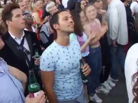 Pride London 2016 Trafalgar Square