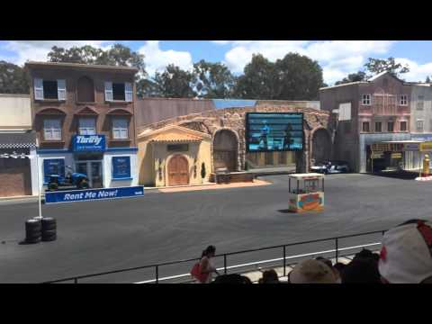 Hollywood Stunt Driver 2 - Movie World, Gold Coast