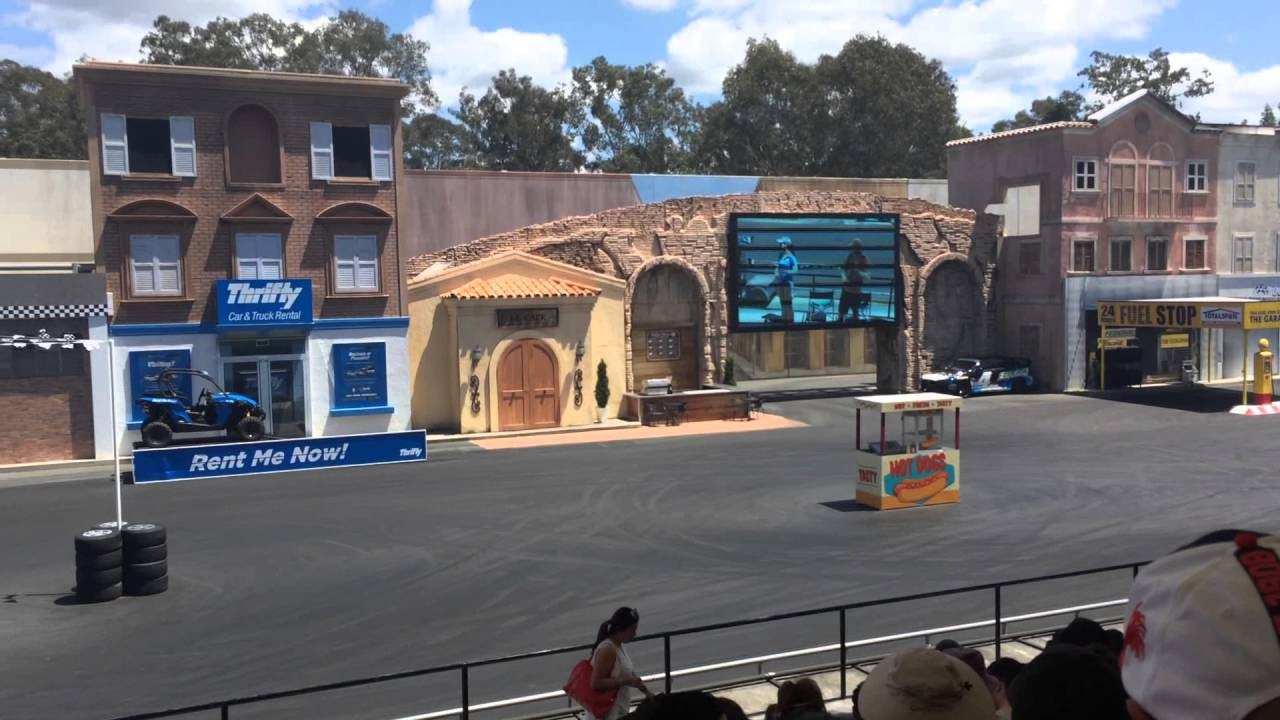 MOVIEWORLD STUNT DRIVER