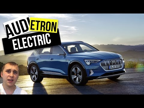 Audi E-tron an all electric SUV with amazon ALEXA car review 🔌🔋🚗 Mp3