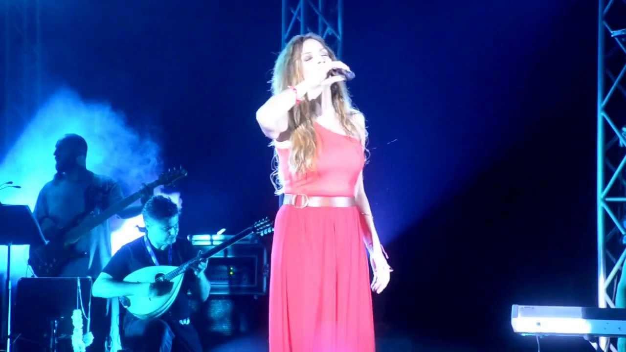 Άννα Βίσση - Χρυσοπράσινο Φύλλο, Άννα Με Πάθος Tour, Λεμεσός (27/07/2013)