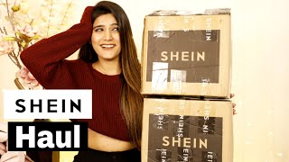 2020's Biggest SHEIN HAUL Ever......!! ❤️ | Super Style Tips
