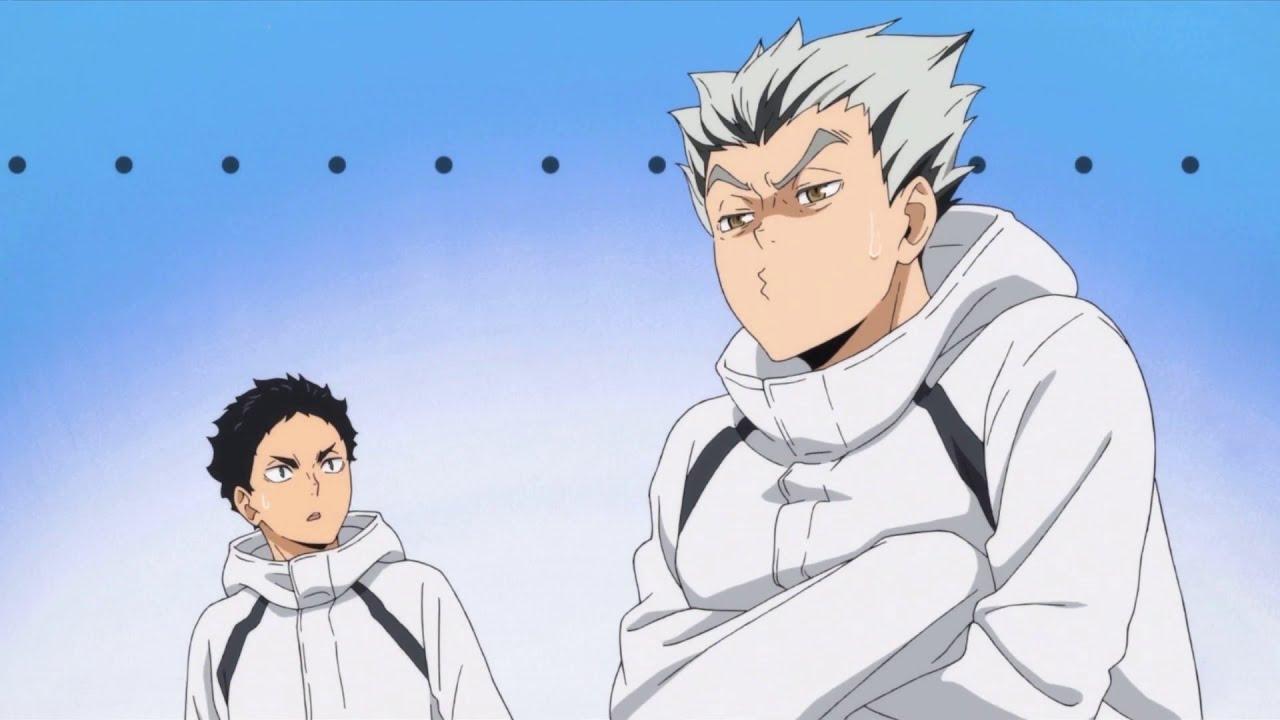 bokuto and akaashi haikyuu season 4