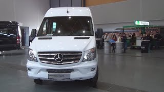 Mercedes-Benz Sprinter Transfer 45 Bus (2018) Exterior and Interior