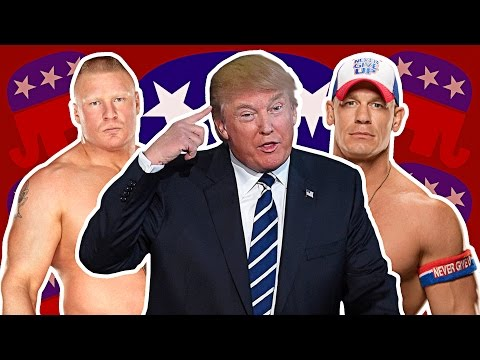 WHAT POLITICAL PARTY DO WWE SUPERSTARS SUPPORT?