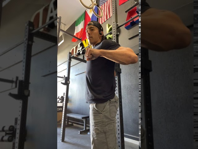 CHEST TO BAR PULLUP - FOUNDATIONS