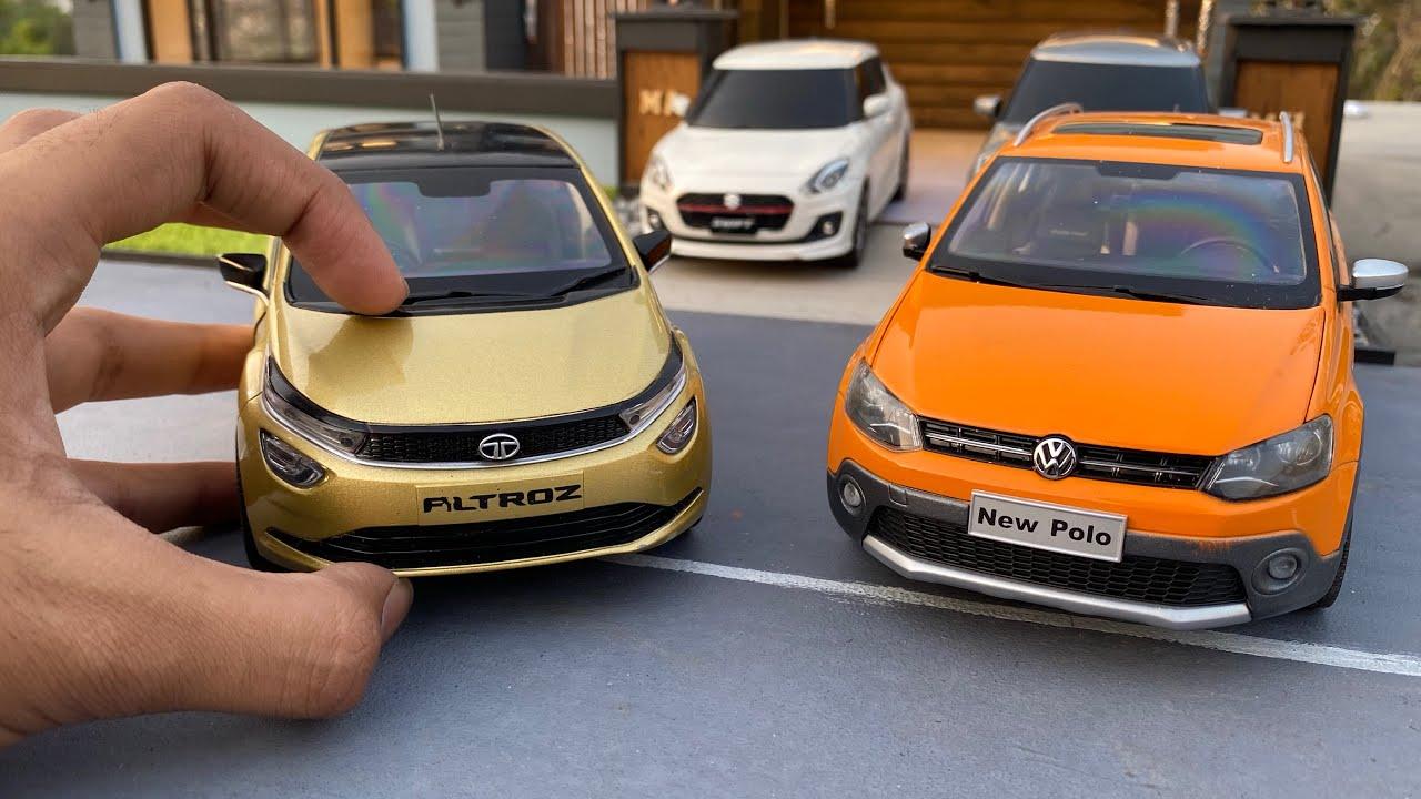 Realistic Rare Hatchbacks Diecast Model Cars 1/18 Scale | Indian Cars | Miniature Automobiles