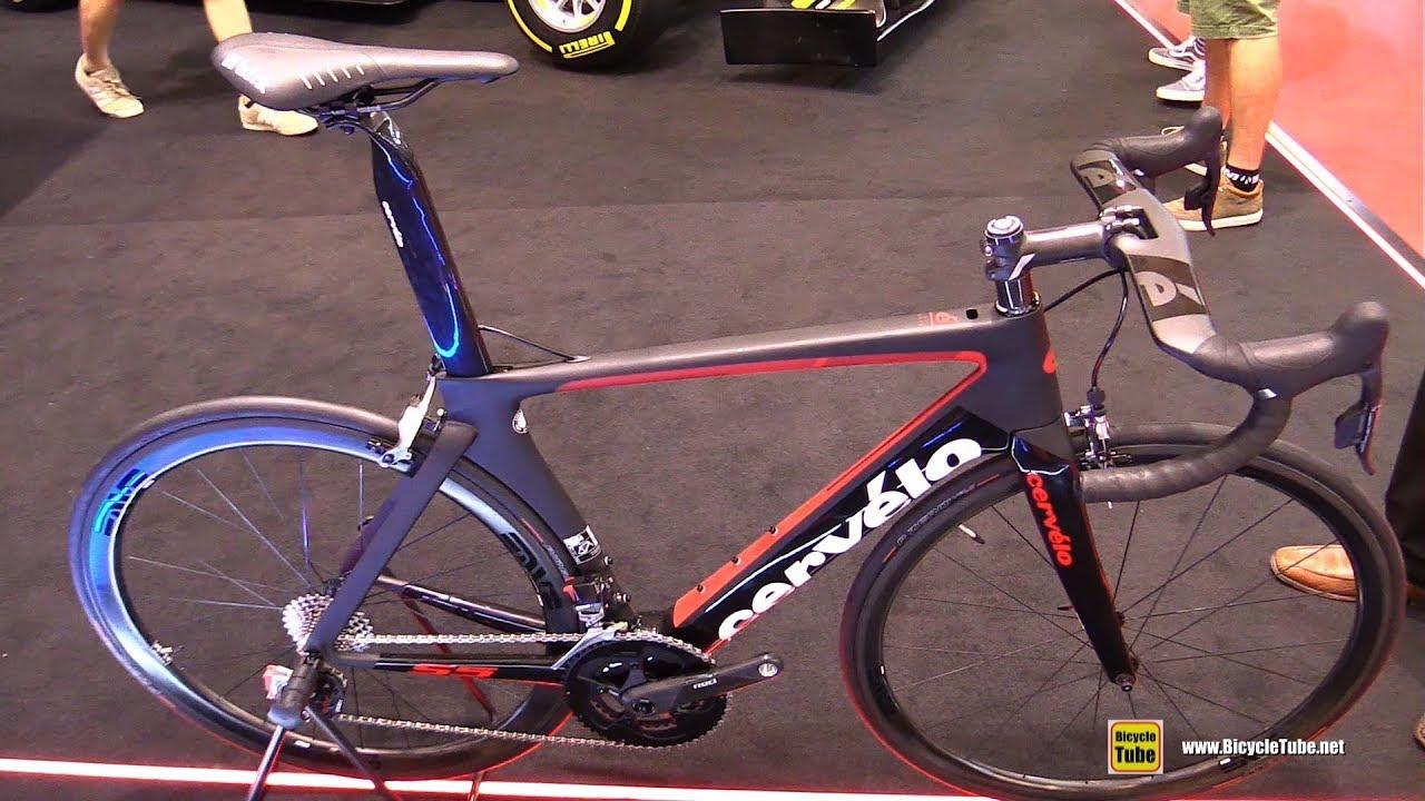 2018 Cervelo S5 Road Bike With Pirelli Velo Tt Tires Walkaround